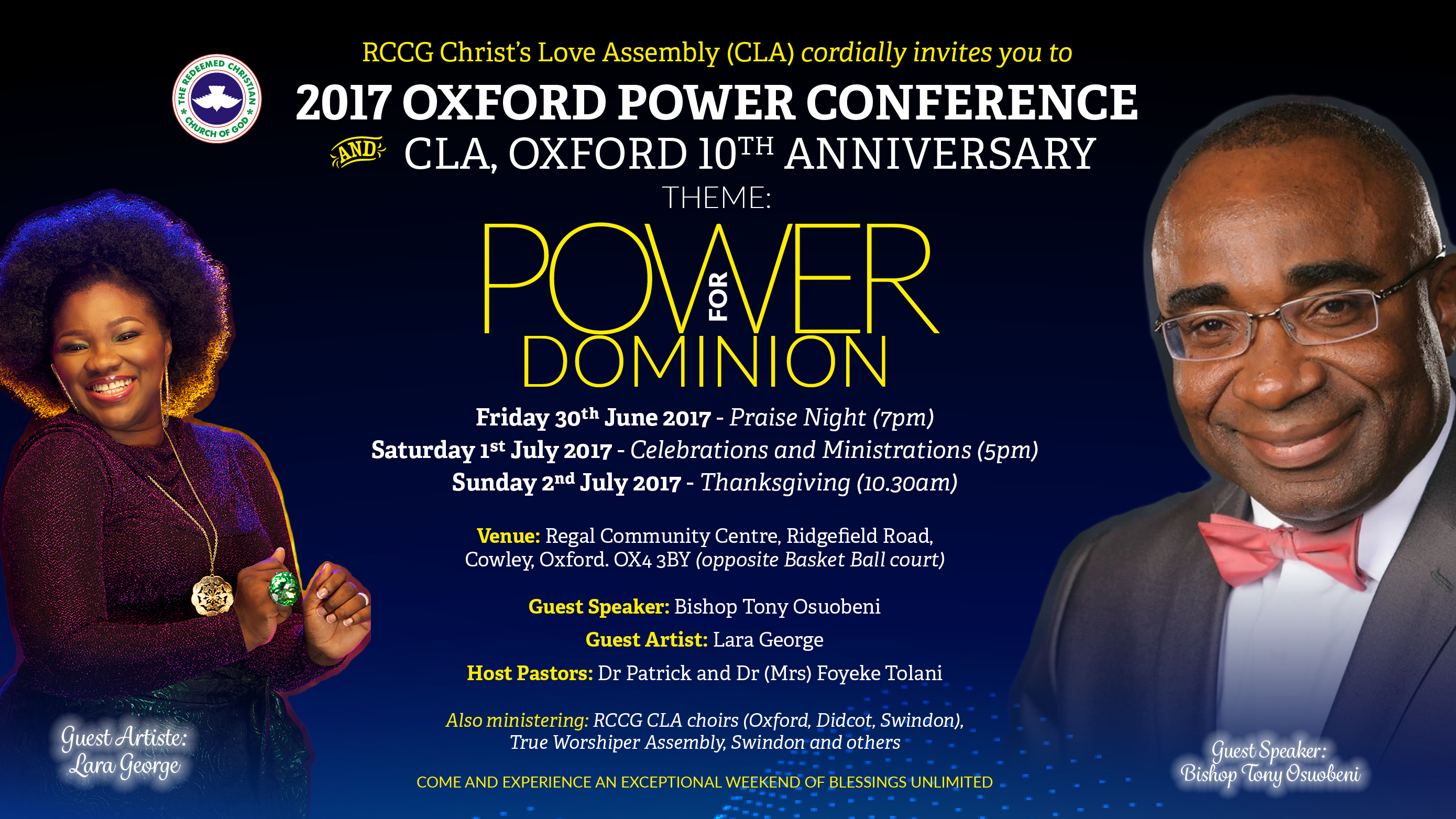 Oxford Power Conference 2017