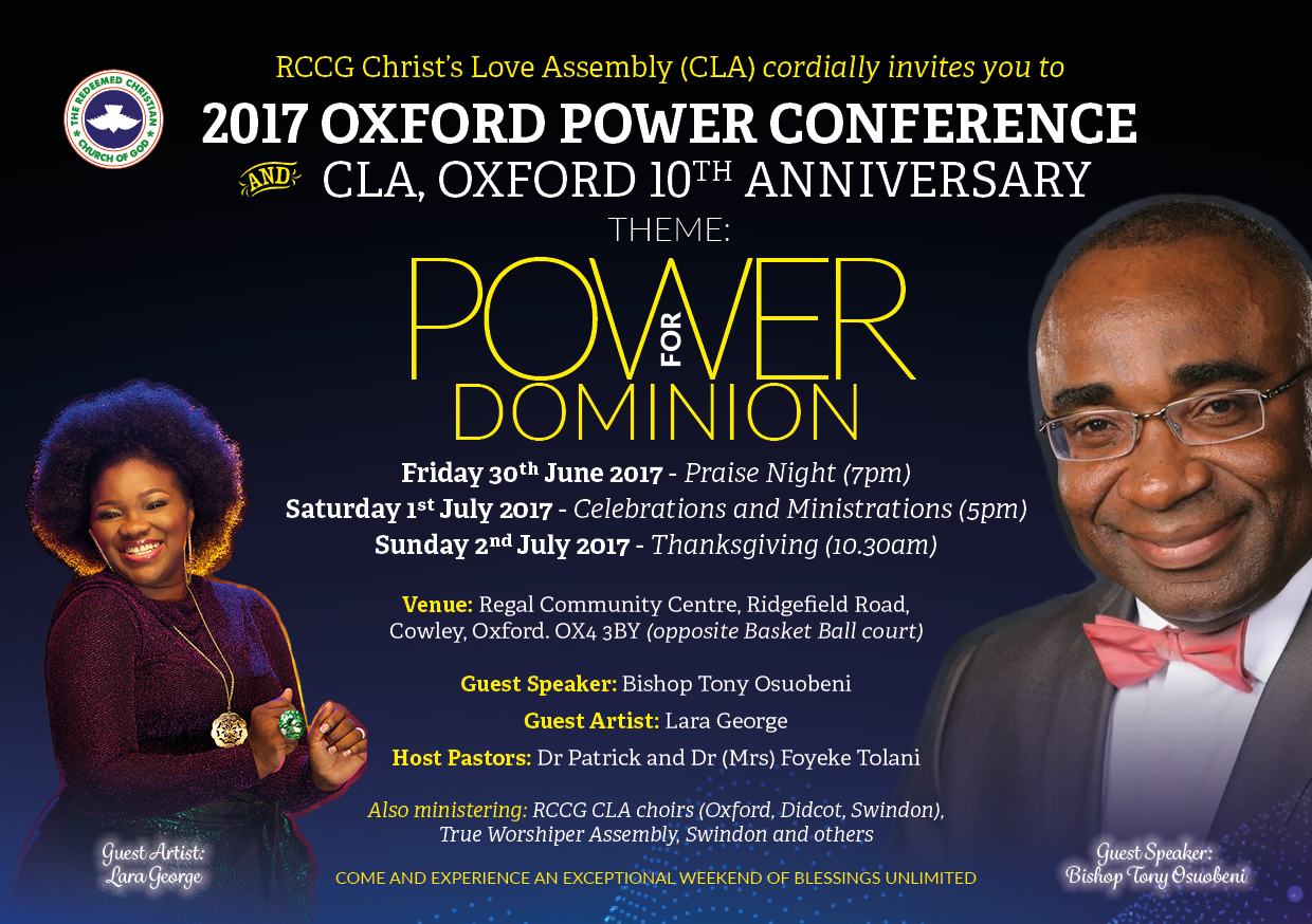 Oxford Power Conference 2016