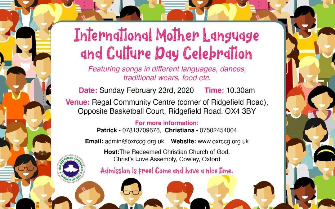 International Mother Language and Culture Day Celebration